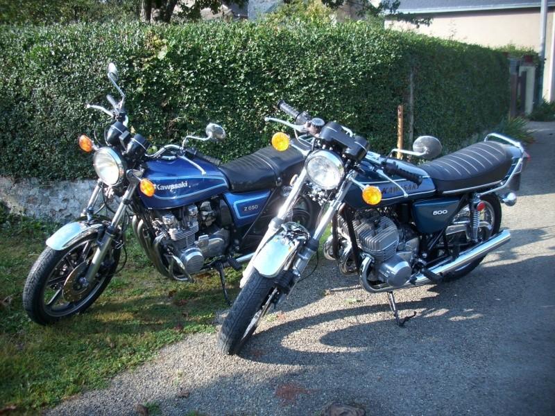 """Kawasaki """" route """" 1979 ... 500_h110"""