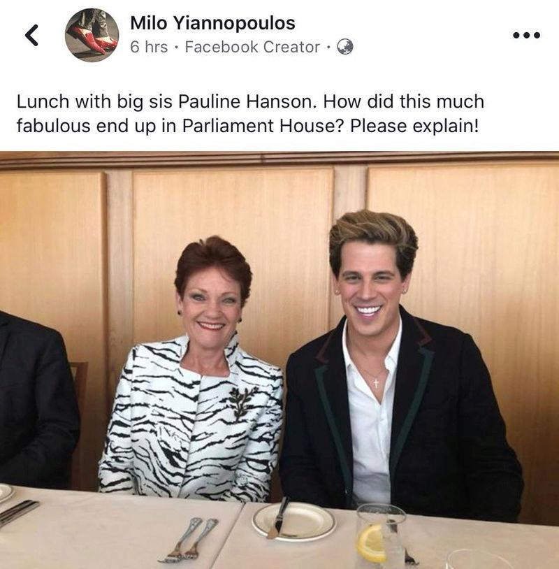 Fuck Off home, Yannadopascumashitfaceadopolous. Milo10
