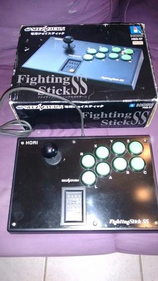 estimation  console sega saturn pal complete- jeux joystick arcade hori  Hori_f12
