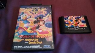vend quelques jeux megadrive flink castlevania mickey flipper World_10
