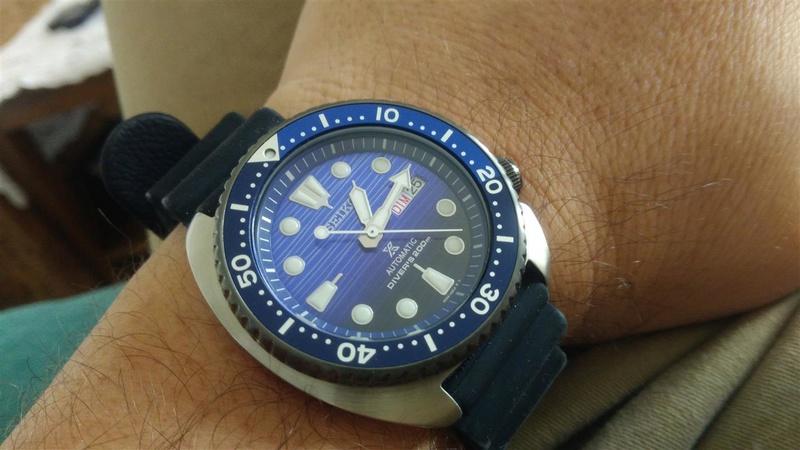 [Vends] Seiko turtle Save the ocean sur bracelet acier strapcode- 370€ 0710
