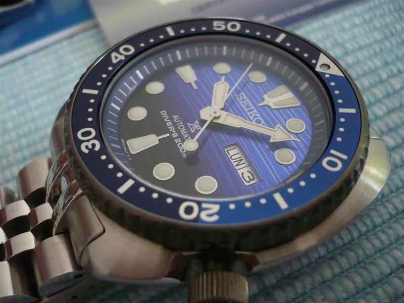 [Vends] Seiko turtle Save the ocean sur bracelet acier strapcode- 370€ 0910