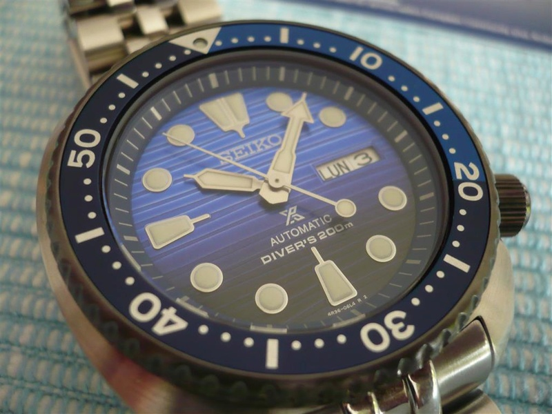 [Vends] Seiko turtle Save the ocean sur bracelet acier strapcode- 370€ 1010