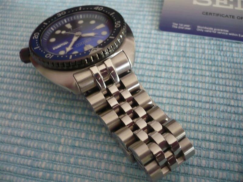 [Vends] Seiko turtle Save the ocean sur bracelet acier strapcode- 370€ 1110