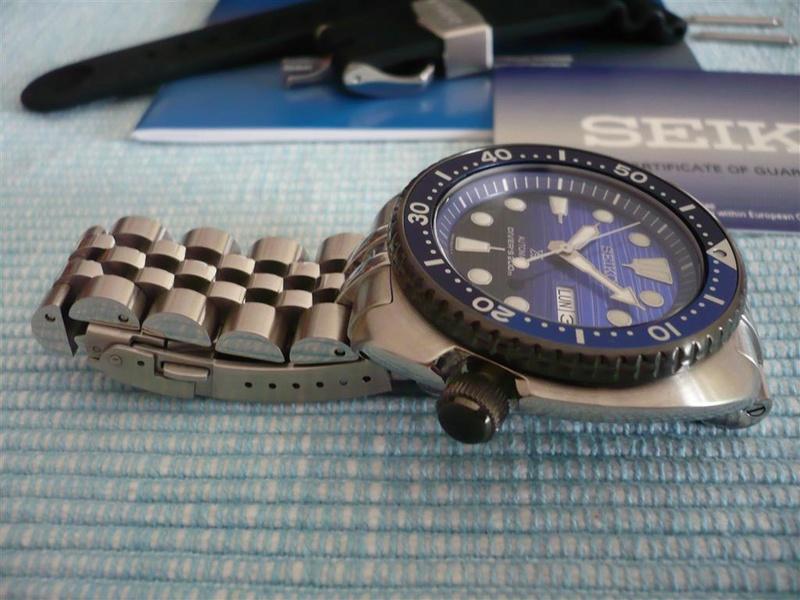 [Vends] Seiko turtle Save the ocean sur bracelet acier strapcode- 370€ 1210