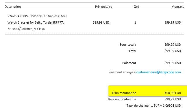[Vends] Seiko turtle Save the ocean sur bracelet acier strapcode- 370€ 1410