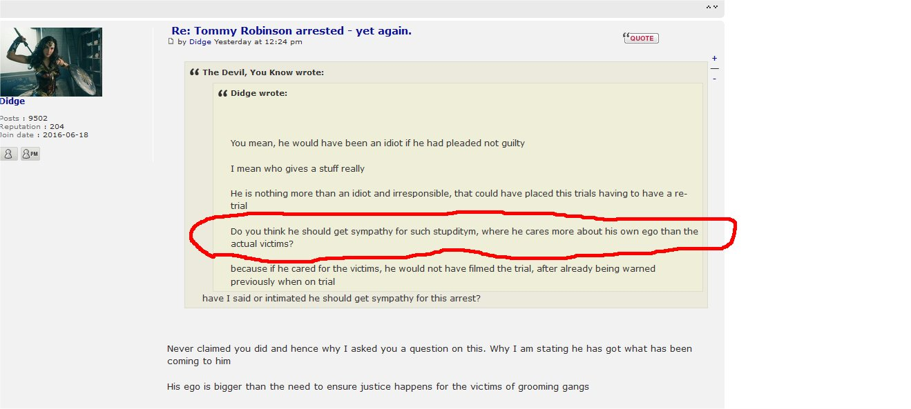 Tommy Robinson arrested - yet again. - Page 2 Didge_10
