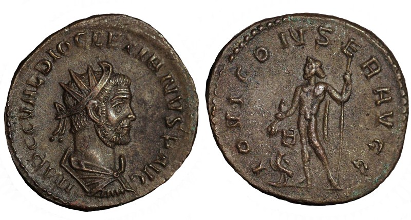 Aureliani de Lyon de Dioclétien et de ses corégents - Page 10 Ant07410