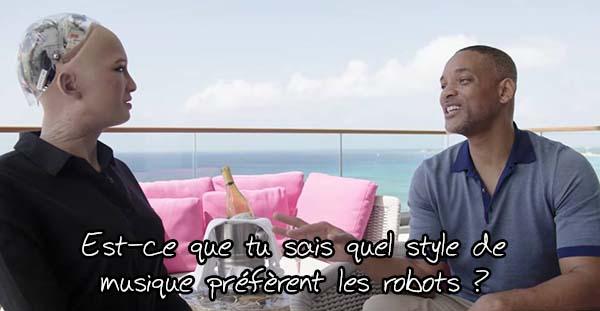 Will Smith tente de faire une blague à un robot… 0110