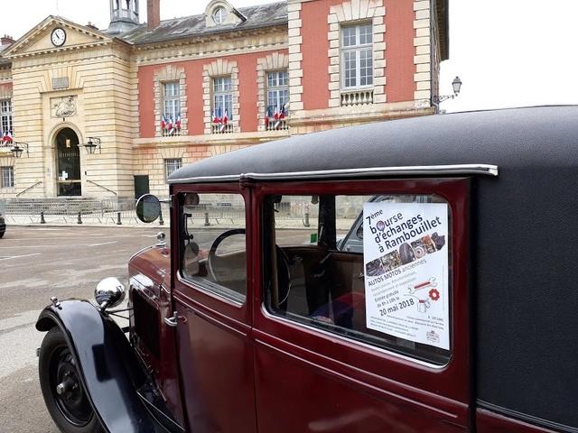 7ème Bourse d'échanges à Rambouillet, dimanche 20 mai 2018 20180421
