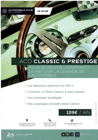 ACO  Automobile Club de l'Ouest Aff110