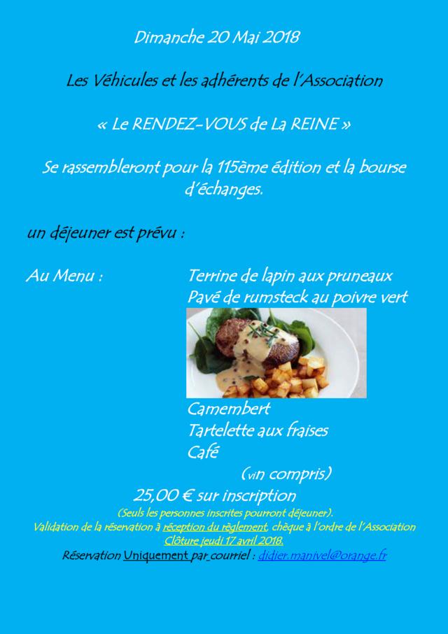 115ème Rendez-Vous de la Reine - Rambouillet le 20 mai 2018 Bourse10