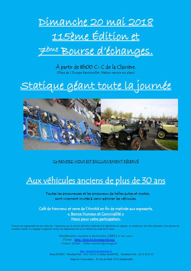 7ème Bourse d'échanges à Rambouillet, dimanche 20 mai 2018 Bourse16