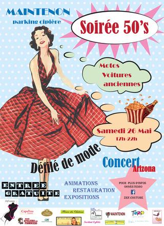 """Soirée """"Années 50"""" à Maintenon le samedi 26 mai de 17 à 22h00 Cyrill11"""