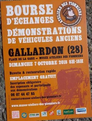Gallardon (28)«Le musée à ciel ouvert» dimanche 7 octobre 2018 Dscn3512