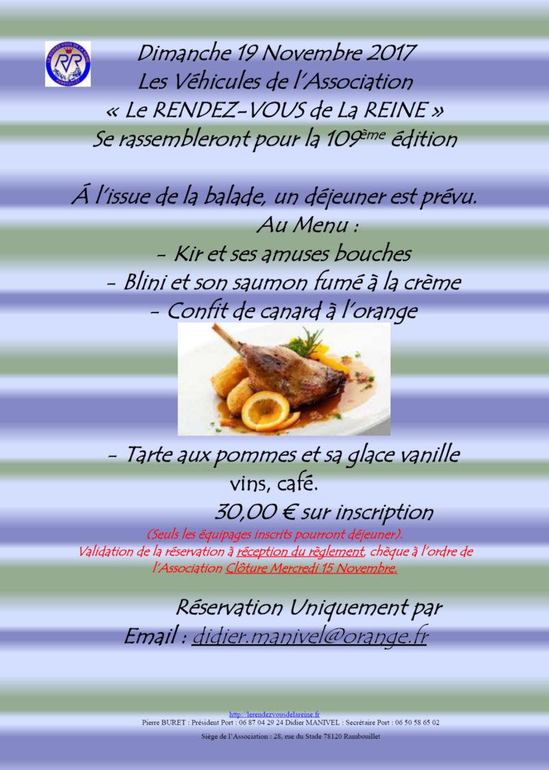 109ème Rendez-Vous de la Reine - Rambouillet le 19 novembre 2017 Image010