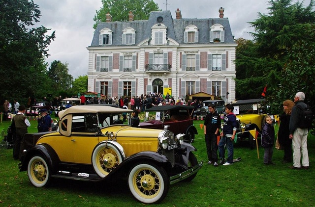 Fêtes des Grand-Mères Automobiles le dimanche 4 mars 2018 Mairie12
