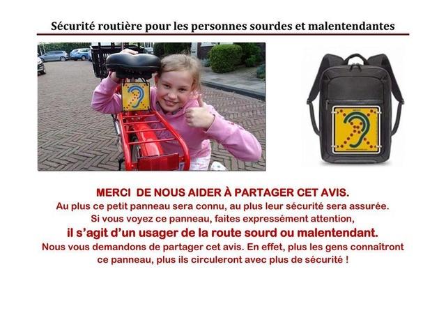 Sécurité routière pour les personns sourdes et malentendantes Malent10