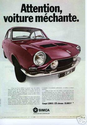 SIMCA 1200S coupé Bertone Olivie10