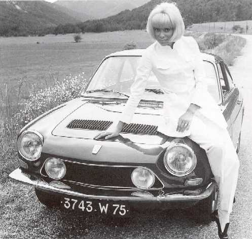 SIMCA 1200S coupé Bertone Olivie11