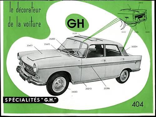PERSONNALISER SON AUTO: accessoiristes, carrossiers, etc... Peugeo12