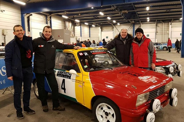 Rallye Monte-Carlo Historique 2018 Peugeo17