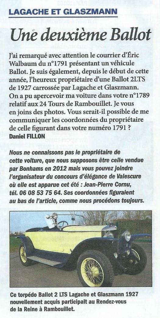 Le Rendez-Vous de la Reine dans la presse locale ou nationale - Page 3 Scan0011