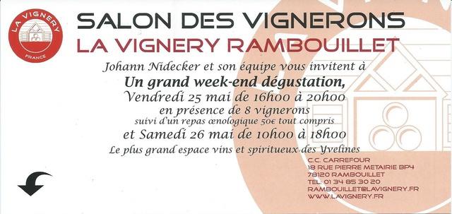 Salon des Vignerons à la VIGNERY les 25 et 26 mai 2018 Vigner10