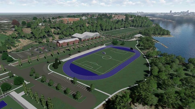 Rendering of Franz Campus Track Aerial11