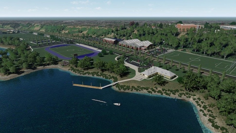 Rendering of Franz Campus Track Aerial13