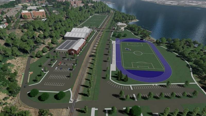 Rendering of Franz Campus Track Aerial15