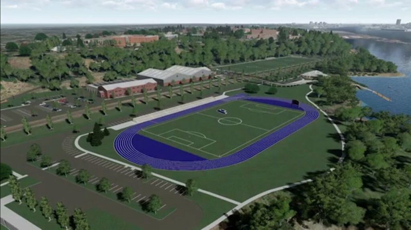 Rendering of Franz Campus Track Track10