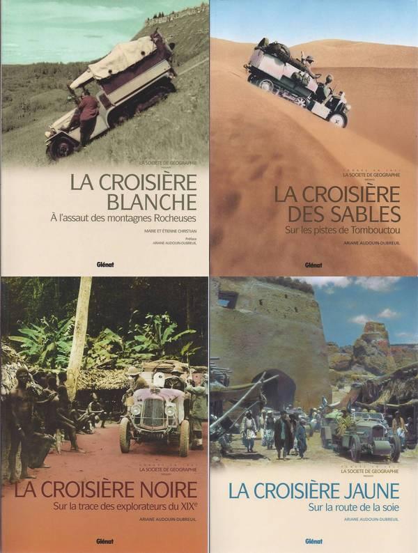 Livres sur les Croisières Citroën Coffre11