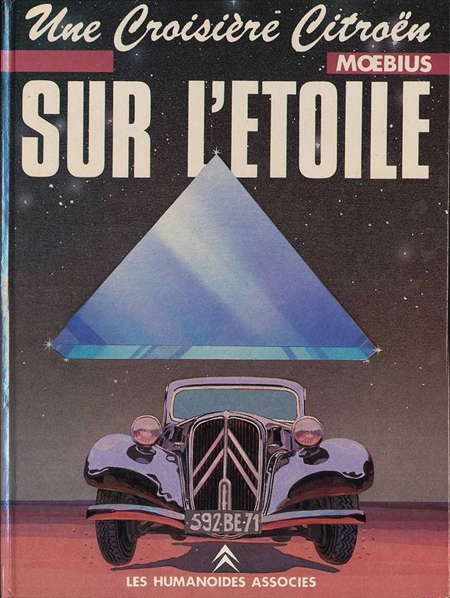 Des BD ... dont l'héroïne est une Citroën ... Etoile10