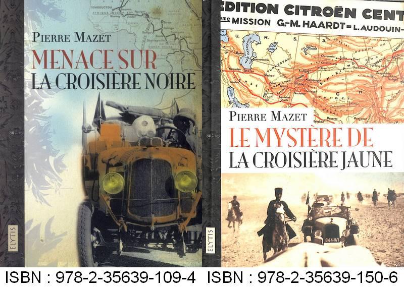 Livres sur les Croisières Citroën Mazet10