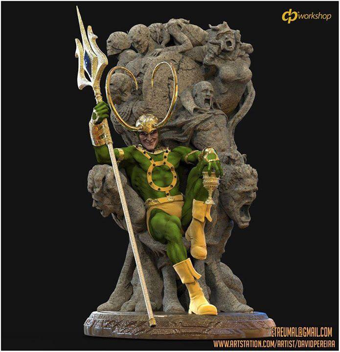 Statues et customs - Page 6 Loki_310