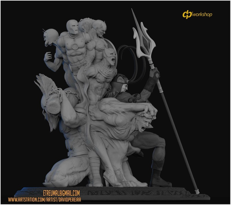 Statues et customs - Page 6 Loki_314