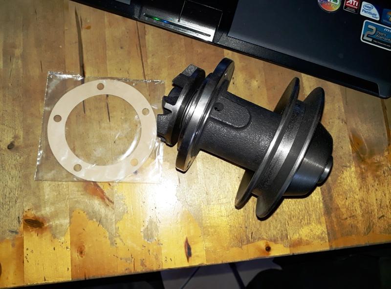 Pompe à eau OM 636 Pompe10