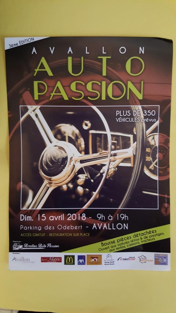 Avallon Auto Passion (89) 20180451