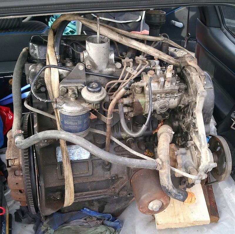 Véhicule pour transport moteur MK2 Moteur10