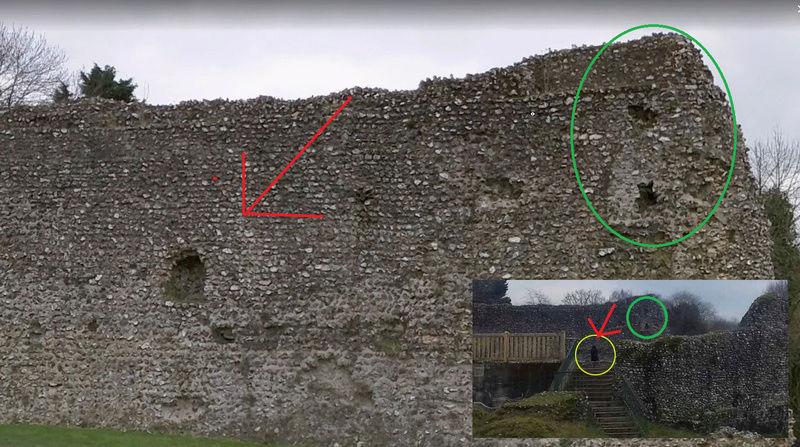 Le fantôme d'un moine photographié dans un château 11111110