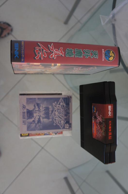 29 Jeux NEO GEO AES Near Mint à Mint Kabuki10