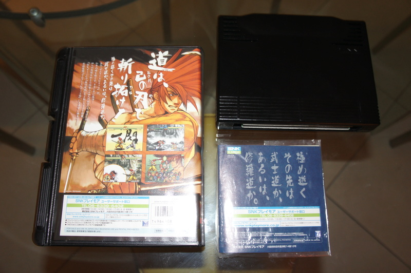 29 Jeux NEO GEO AES Near Mint à Mint Samura11