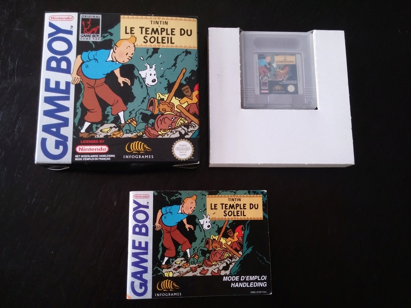 Dadou's Collection - Commencement des branchements Tintin11
