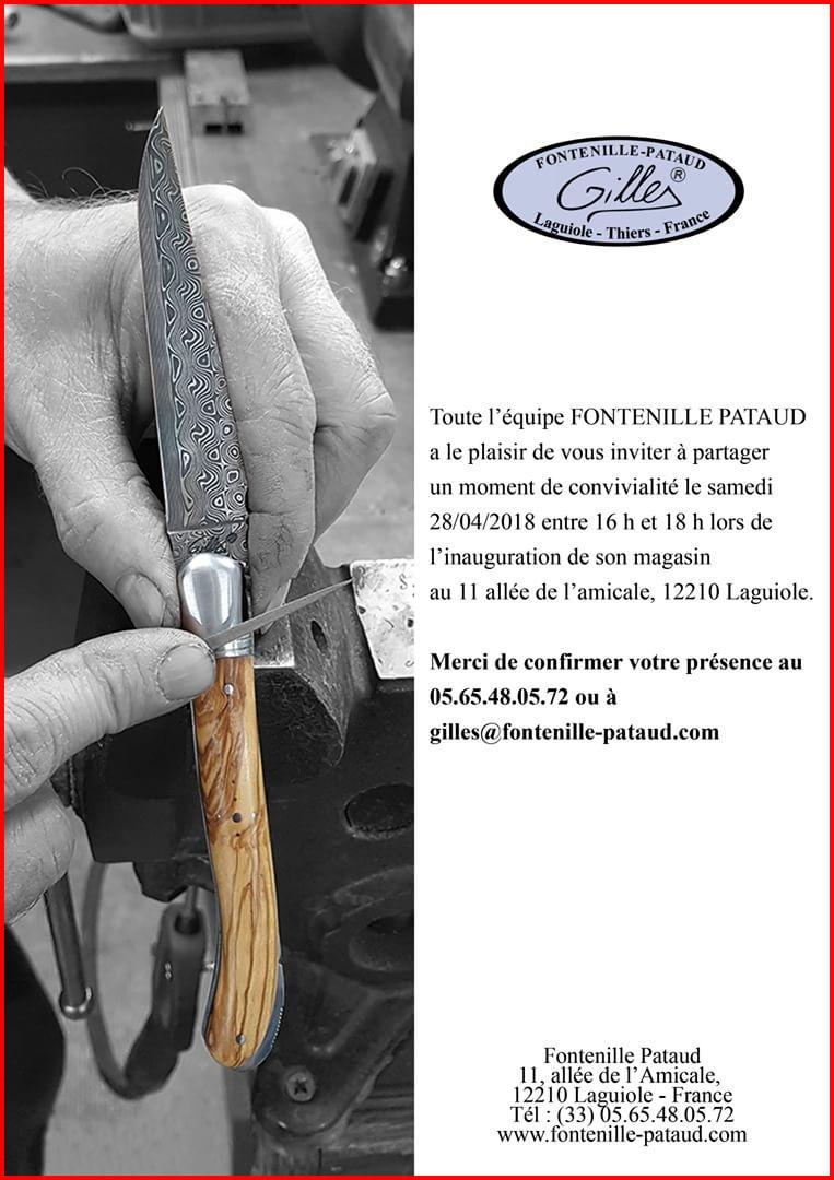 Nouvelle boutique Fontenille-Pataud...à Laguiole...si, si, ils ont osé!!! 4e9db910