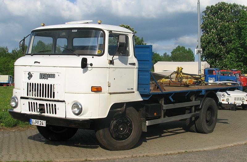 Pritschenzug L60 mit Speditionspritsche Vogtla10