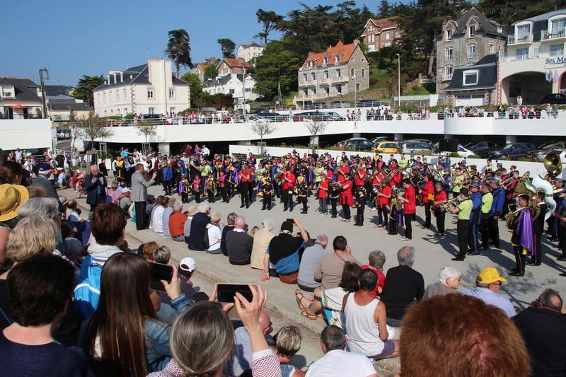 Festival de Bretagne des fanfares le 06 mai 2018 à Pléneuf Val André (22) Img_7811