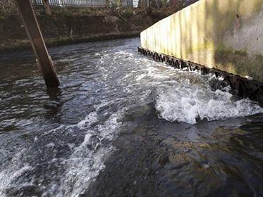 Wandle Trust - eel pass installation - call for volunteers Wandle11