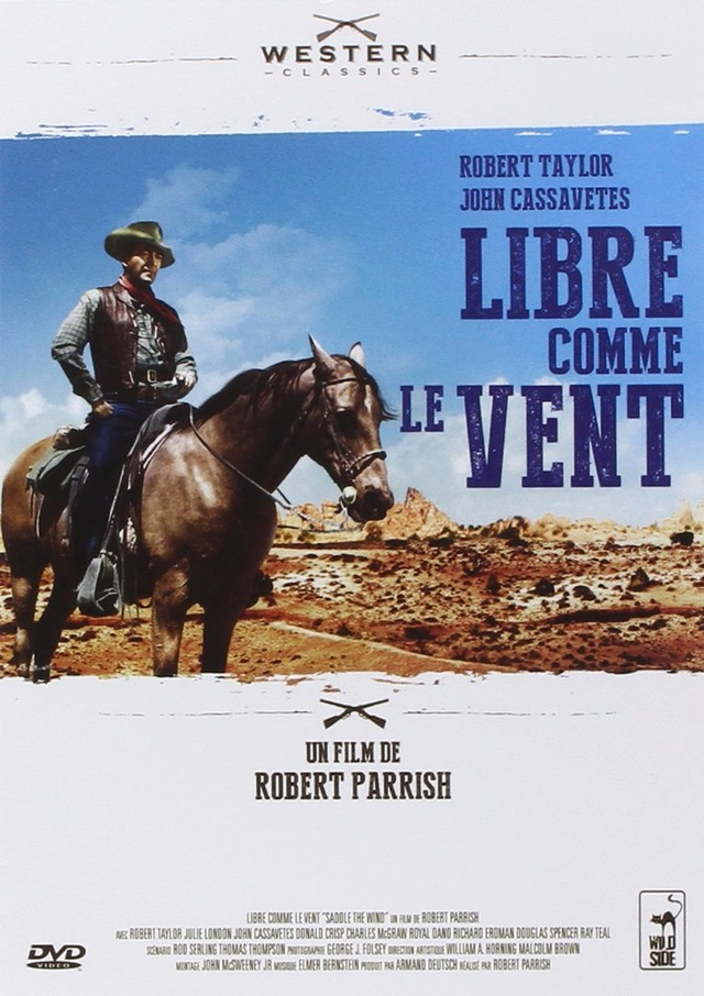 Libre comme le vent. Saddle the Wind. 1957.  Robert Parrish. 71rhpv10