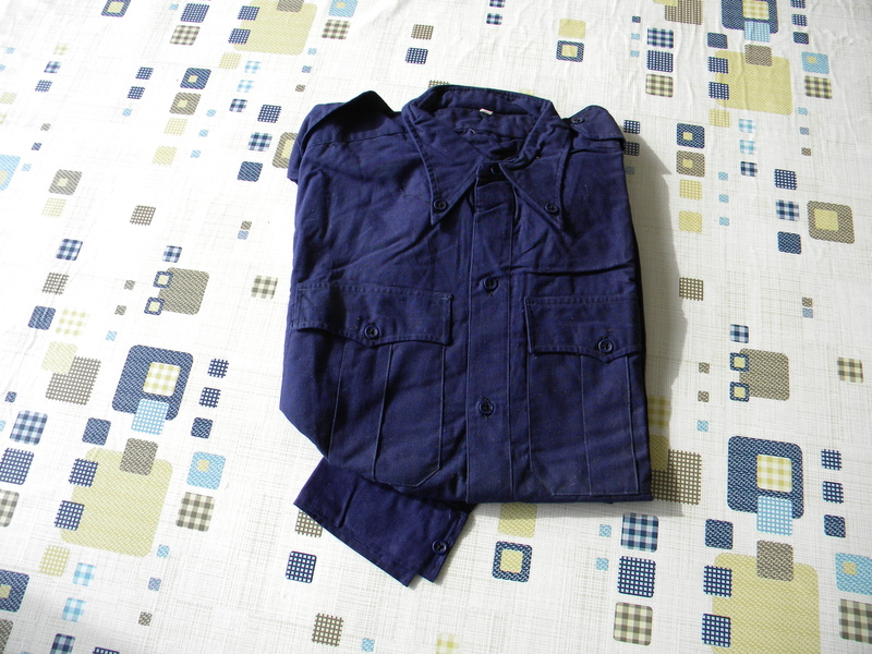 Chemises bleu chasseur ou aviation mle 41 Dscn5815